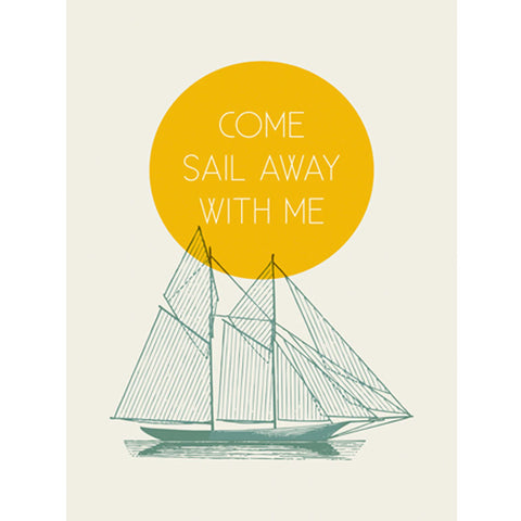 Canvas Wall Art- Come Sail with Me