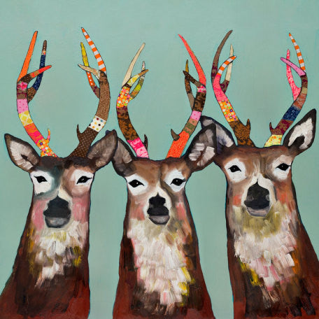 Canvas Wall Art- Designer Deer