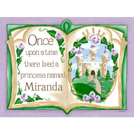 Once Upon a Time Storybook Wall Art
