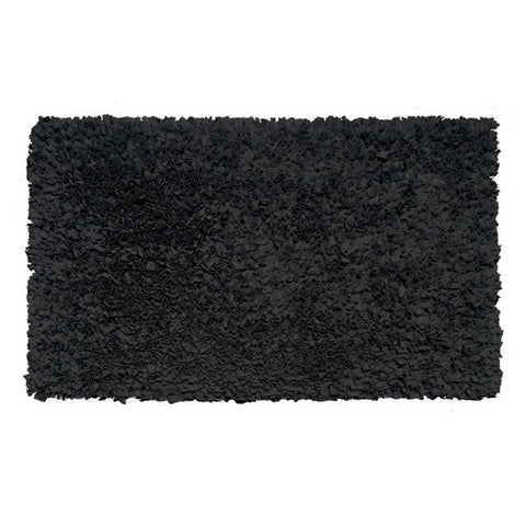 Shaggy Raggy Rug (Black)