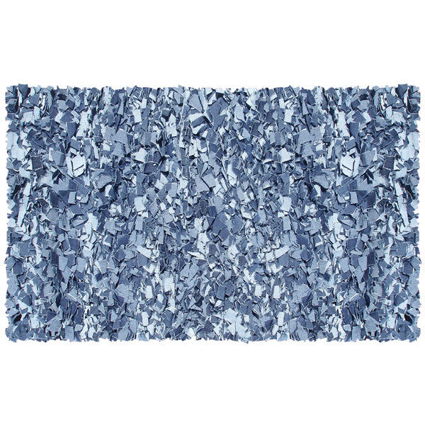 Shaggy Raggy Rug (Denim)