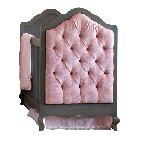 Hilary Crib with Tufted Panels