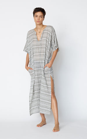 Belek Kaftan - New Puckered Patterns