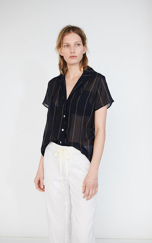 Camper Shirt in Striped Shirting