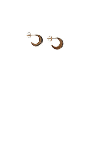 Crescent Earring in Gold