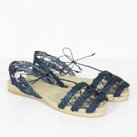 *SALE* Ball Pagès Doble Calada Navy Espadrilles