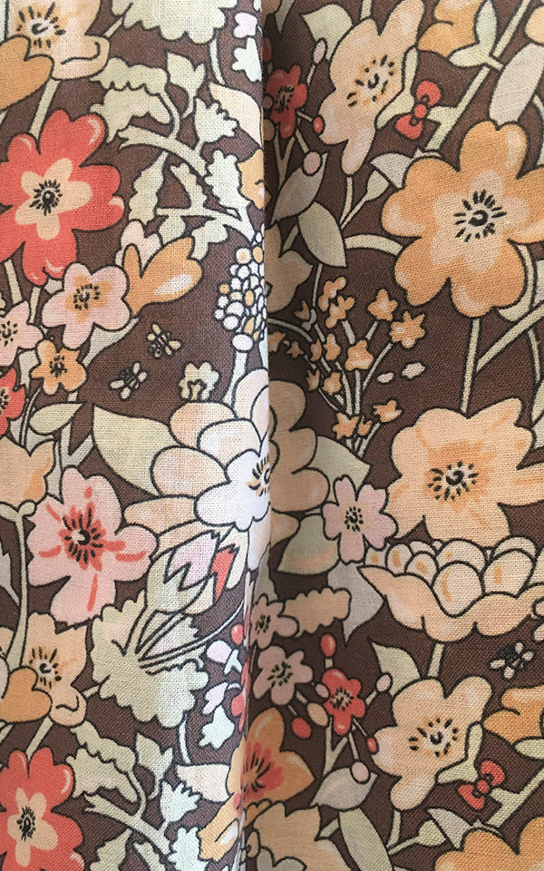 Bloomer in Brown Floral