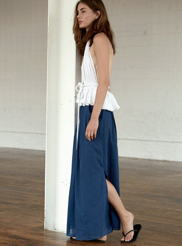 *SALE* Pleated Beach Skirt - Unlined