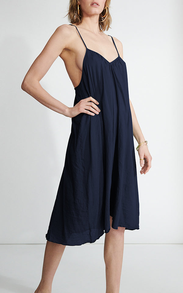 V-Neck Slip in Cotton