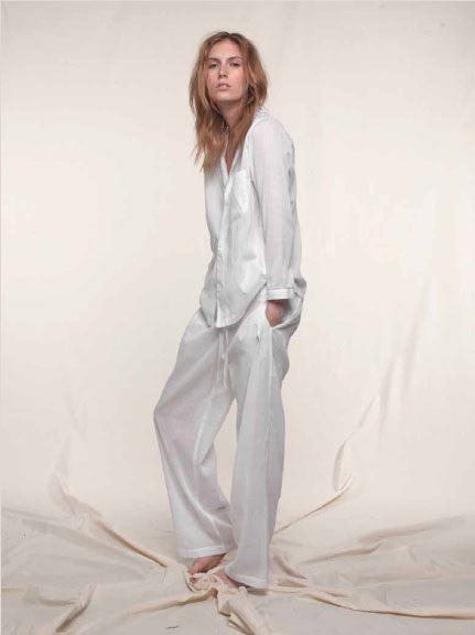 Tuxedo Stripe Pajama in Cotton