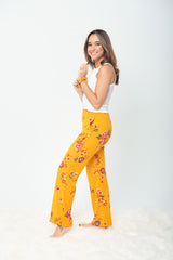 """The Jayne Lounger"" Multi-Way Pant - Marigold"