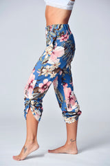 """The Jayne Lounger"" Multi-Way Pant- Summer Tropics"