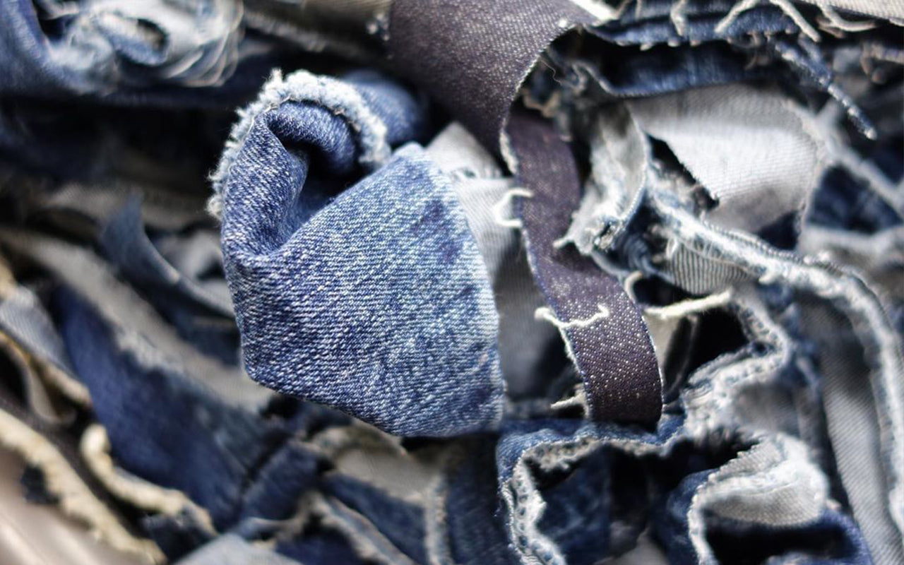 recycled cotton denim