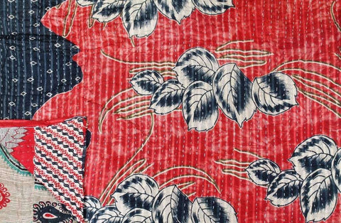 Vintage Kantha Throw