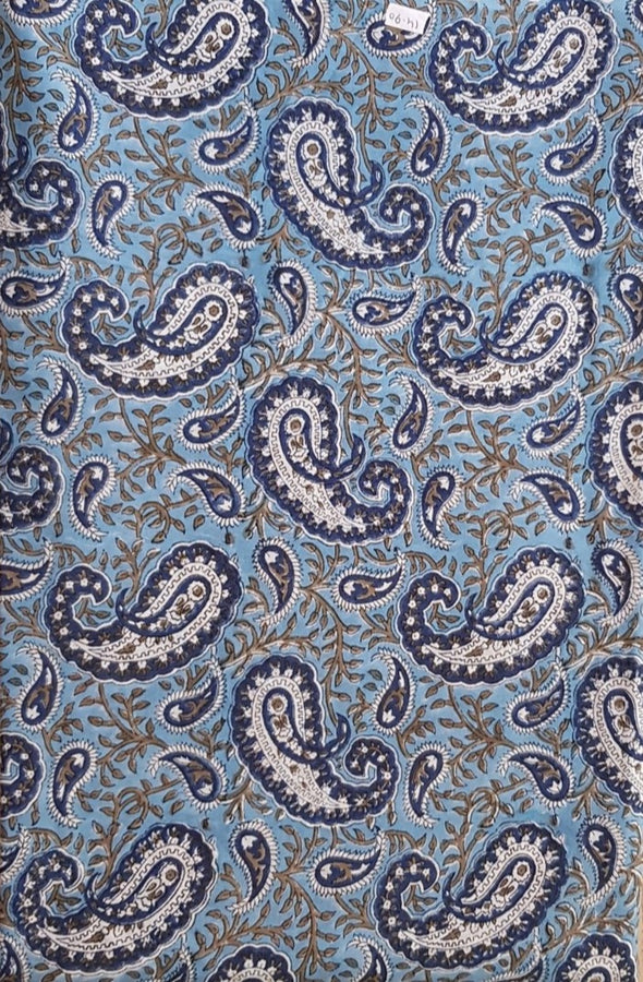 Hand Block Printed Fabric