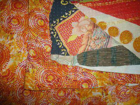 Kantha Throw - Vintage Kantha Throw