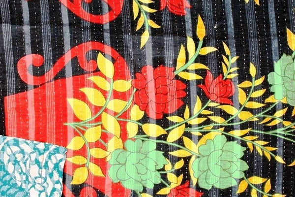 Kantha Throw - Vintage Kantha Throws