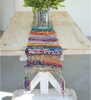 Hand Braided Multi Color Kantha Table Runner