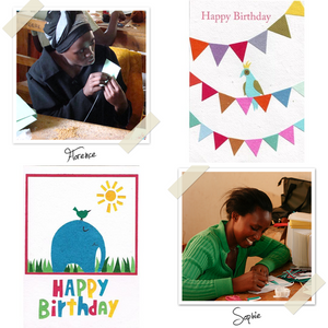 Fair trade eco-friendly cards from Cards from Africa