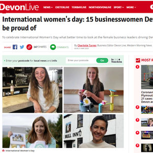 Good Things founder one of International Women's Day businesswomen to be proud of - Devon Live snapshot