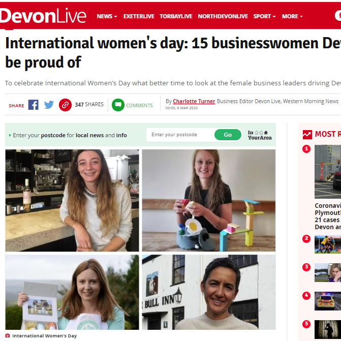 15 Businesswomen Devon can be Proud of