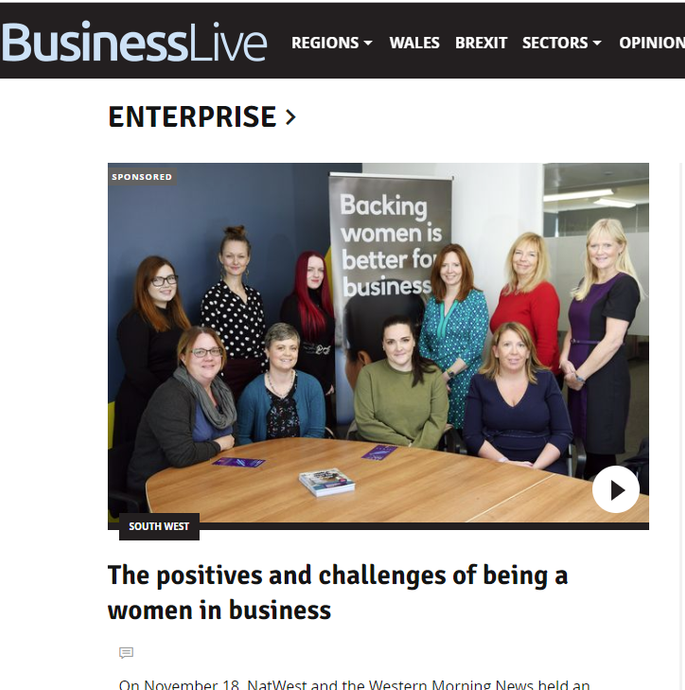 In the News: The Positives and Challenges of Being a Woman in Business