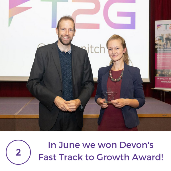 6 month celebration 2 Fast Track To Growth Award
