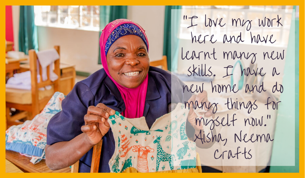 Aisha's story - Neema Crafts at Good Things
