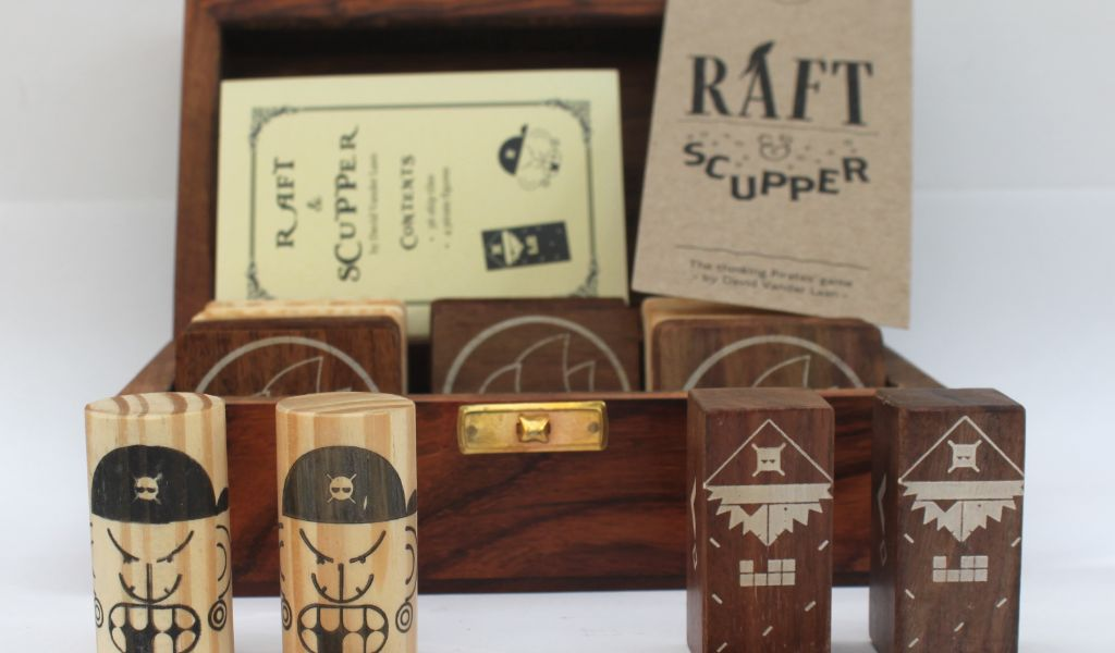 Best Board Games for Isolation - Raft and Scupper