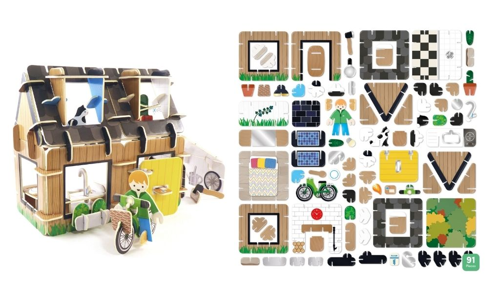 Best Eco Gifts 2021 - Build and Play Eco House
