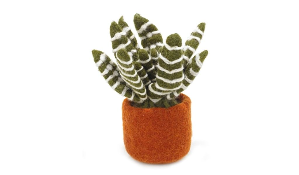 Best Eco Gifts 2021 - Felt Fair Trade Cactus - Eco Gifts for Nature Lovers