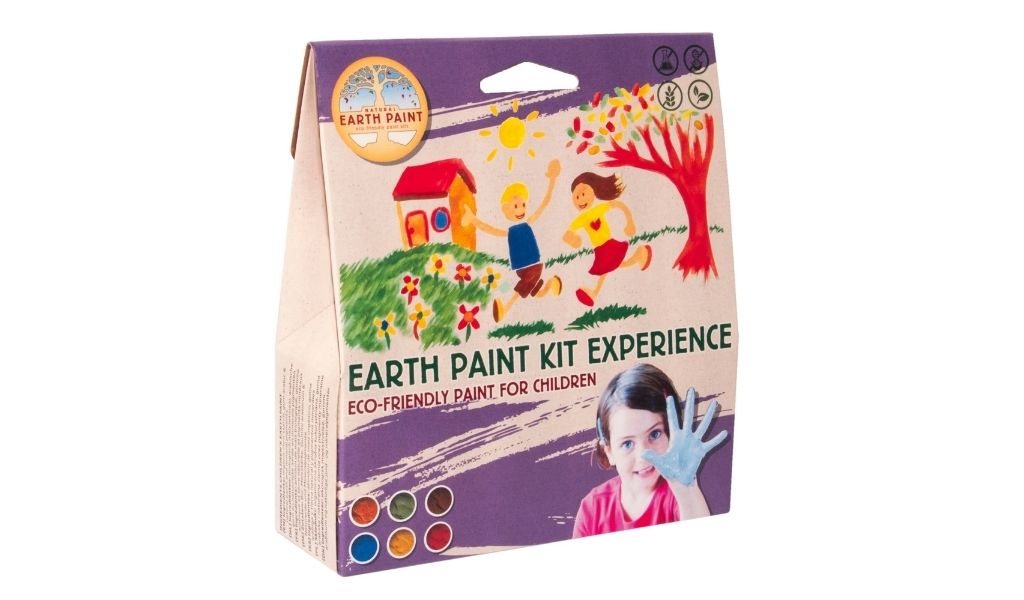 Best Eco Gifts 2021 - Natural Earth Paints - plastic free paints