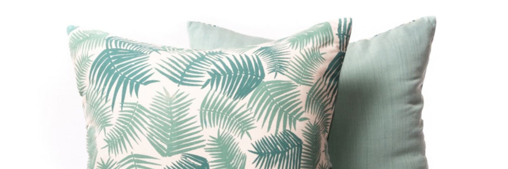 Best Mother's Day Gifts That Give Back - fern print cushion