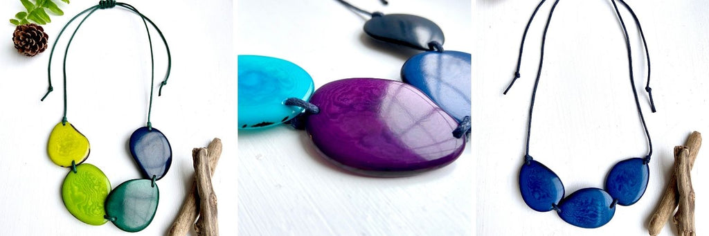 Best Mother's Day Gifts That Give Back - tagua necklaces - ethical jewellery
