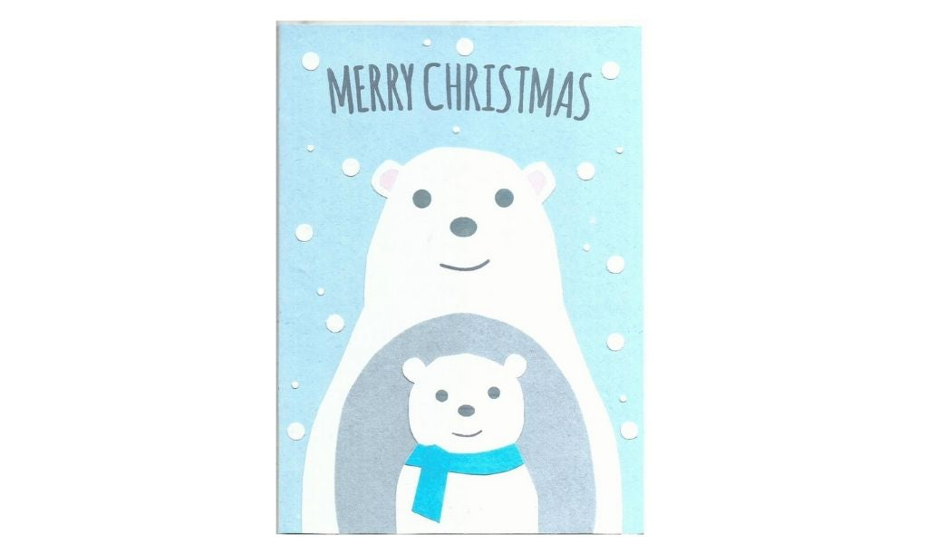 Christmas card - ethical christmas gifts that give back