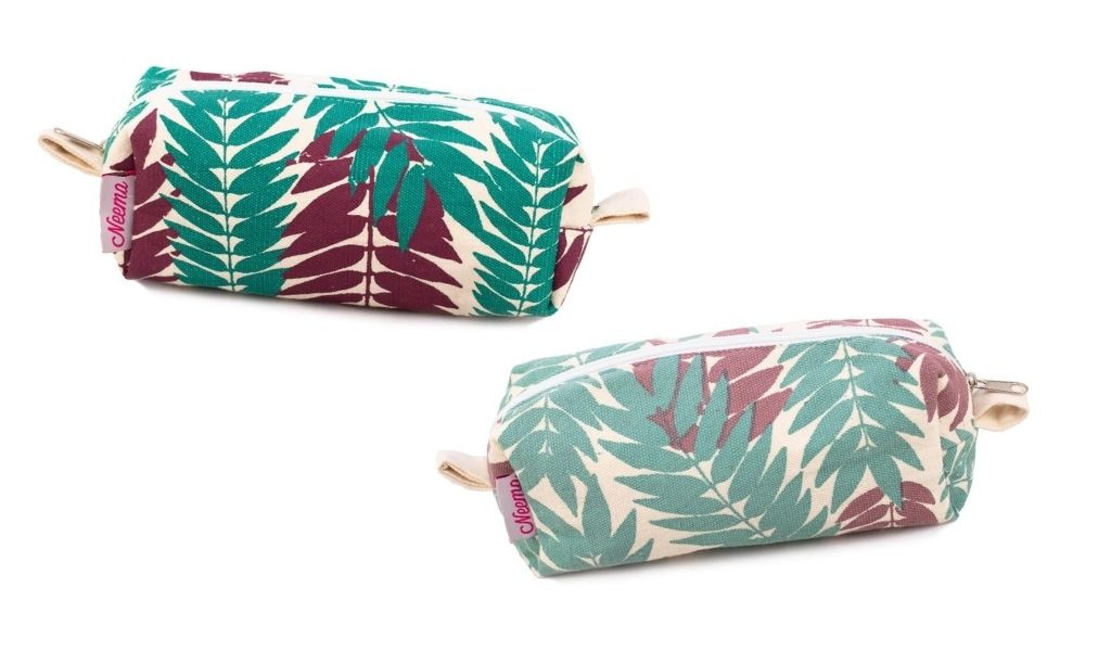 Eco Gifts 2021 - Bags of Goodness - Leaf print bag