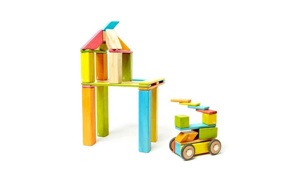 Ethical Gifts Guide - 42 piece Tegu ethical wooden toys