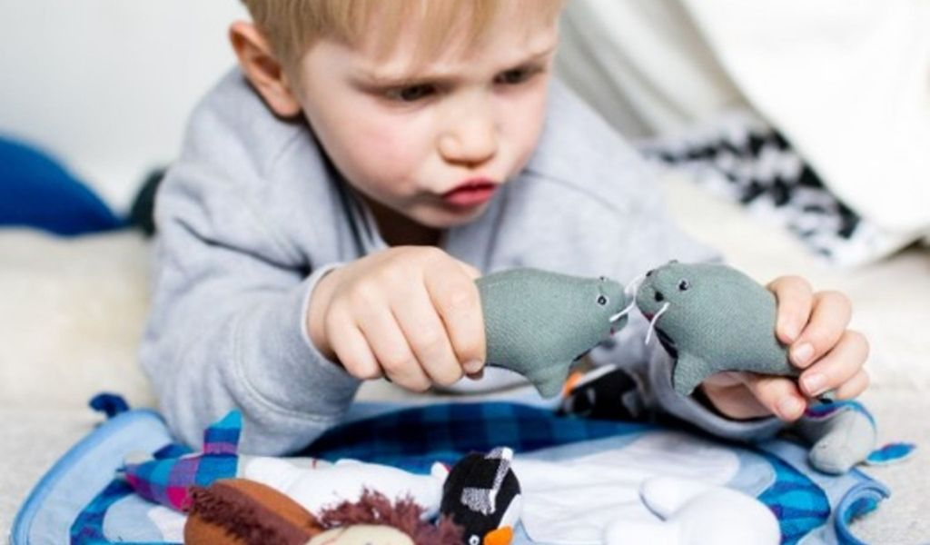 Ethical Gifts Guide - Fair Trade sustainable toy arctic play pouch