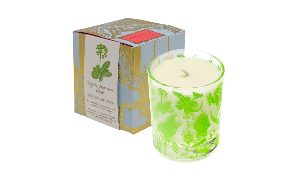 Ethical Gifts Guide - organic vegan candle