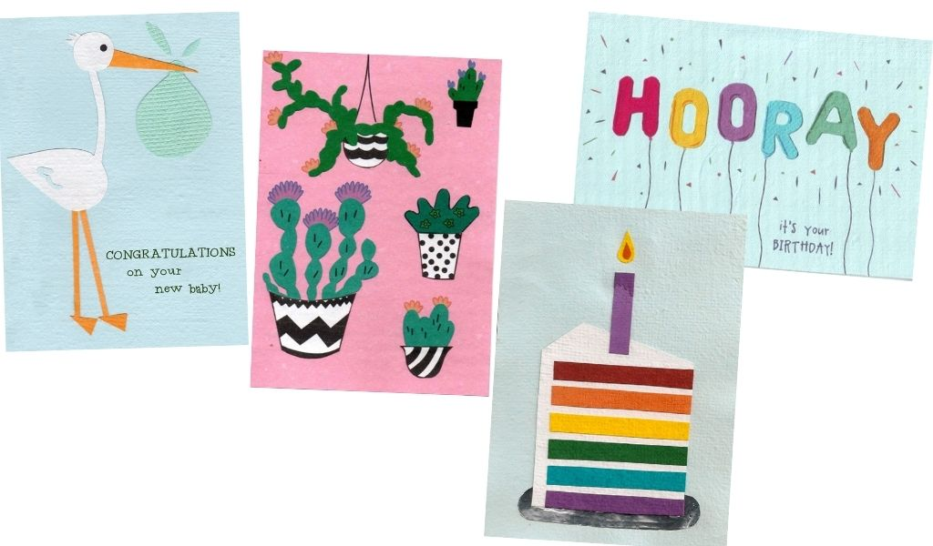 Ethical Gifts Guide - recycled Cards from Africa
