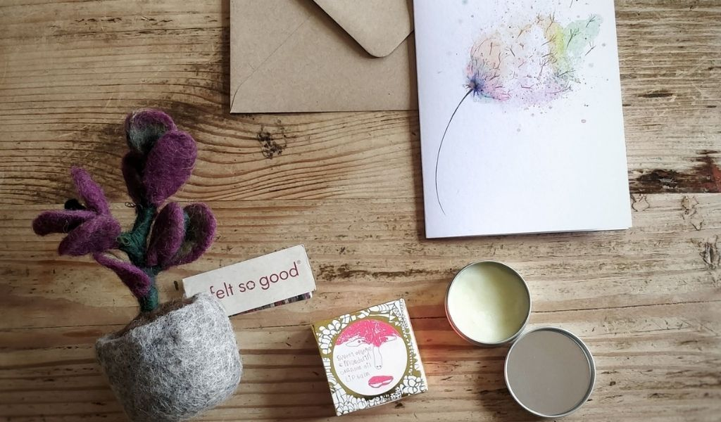 Ethical Gifts Guide - take care of yourself ethical gift set