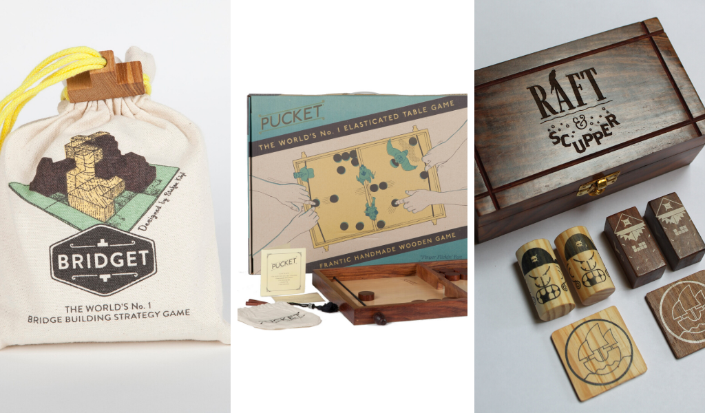 Fair Trade Wooden Games - Best Board Games for Isolation