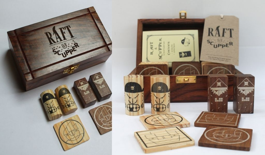 Father's Day Gifts You'll Both Love - ethical and sustainable father's day gift ideas - Raft and Scupper Fair Trade game