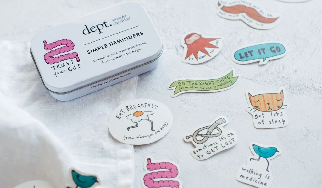 Gift Ideas - Lockdown Gifts for Loved Ones - Simple reminders stickers