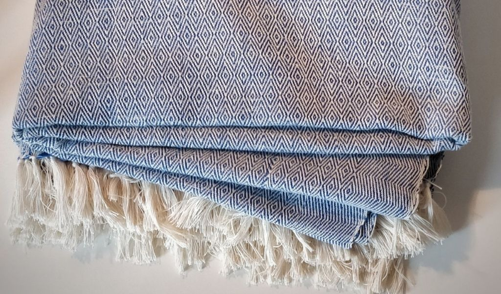 Gift Ideas - Lockdown Gifts for Loved Ones - hand woven blanket