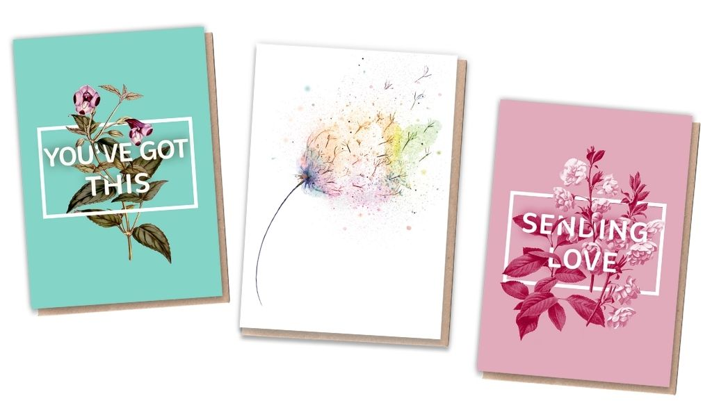 Gift Ideas - Lockdown Gifts for Loved Ones - thoughtful cards