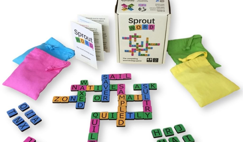 Sproutword Game - lockdown games for time at home