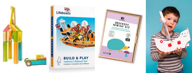Toys to make, build and learn