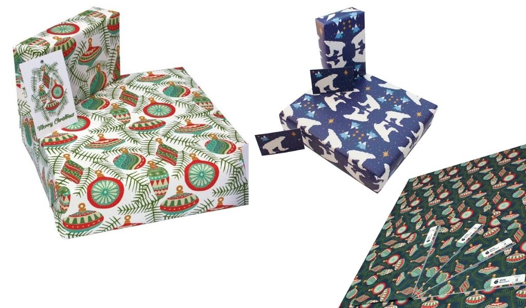 Wrapping paper - ethical christmas gifts that give back