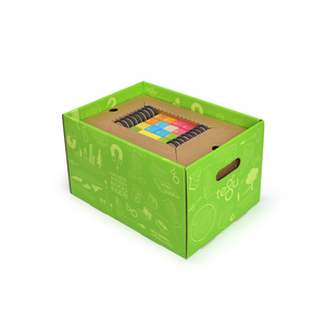 130-Piece Tegu Classroom Kit - in storage box